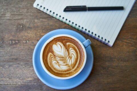 Coffee Notebook The Work Pen Cup schreiben Beitag