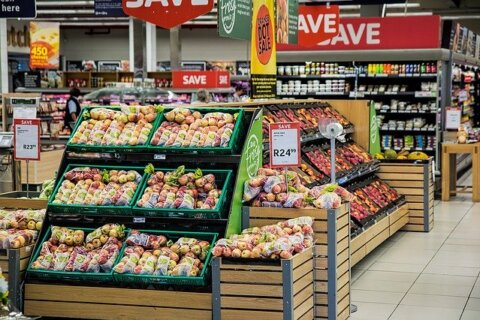 Shopping Supermarket Merchandising einkaufen