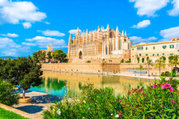 Kathedrale La Seu auf Palma de Mallorca,