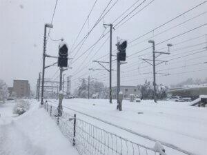 Schnee Uster SBB